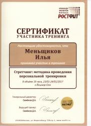 Илья Меньщиков